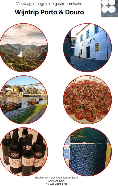 wijnreis Porto en Douro